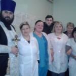Священники окропили Хрещенською водою Яготинську та Броварську районні лікарні