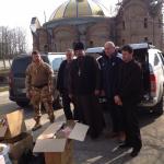 Благодійна акція по збору гуманітарної допомоги в Бориспільскому благочинні